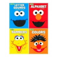 Sesame Street 32-Page Big Face Workbook Assortment (*Carton of 24 Workbooks)