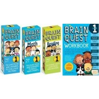 The Ultimate 1st Grade Brain Quest Deck & Workbook Collection