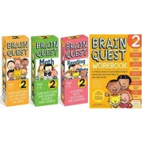 The Ultimate 2nd Grade Brain Quest Deck & Workbook Collection