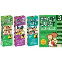 The Ultimate 3rd Grade Brain Quest Deck & Workbook Collection