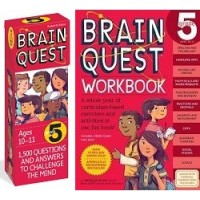 The Ultimate 5th Grade Brain Quest Deck & Workbook Collection