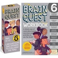 The Ultimate 6th Grade Brain Quest Deck & Workbook Collection